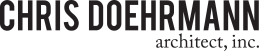 Chris Doehrmann Architect, Inc. of Minneapoli, St. Paul logo